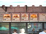 Castle Burger Menu