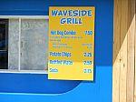 Waveside Grill Menu